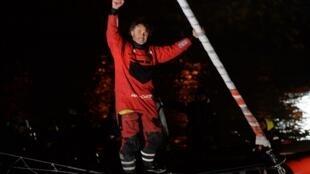 Yannick Bestaven vainqueur du Vendée Globe