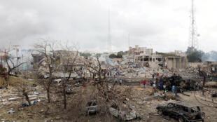 Une attaque terroriste a fait quasiment 300 morts à Mogadiscio, capitale de la Somalie, le samedi 14 octobre 2017.