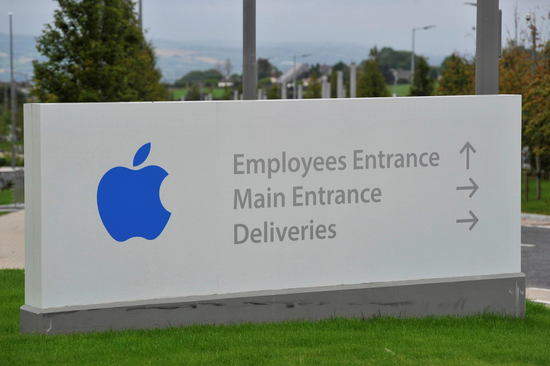 Apple Operations International em Hollyhill, Cork, no sul da Irlanda.