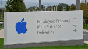 Apple Operations International em Hollyhill, Cork, no sul da Irlanda.