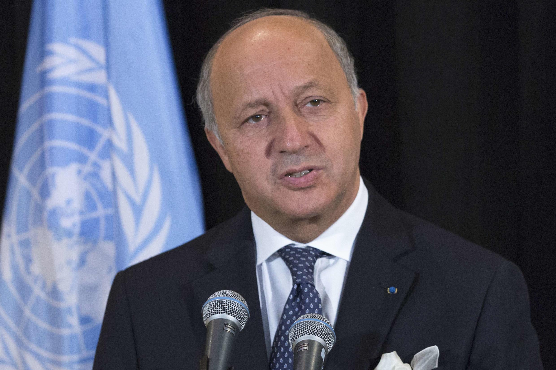 Laurent Fabius, le ministre français des Affaires étangères, le 26 septembre à l'ONU.