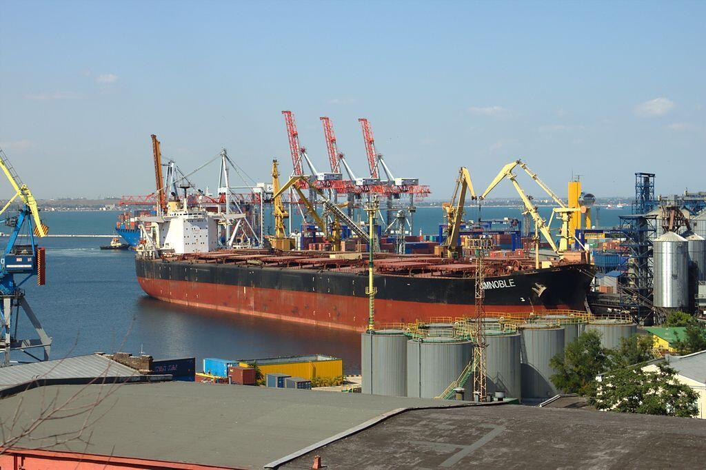 Le port d'Odessa en Ukraine.
