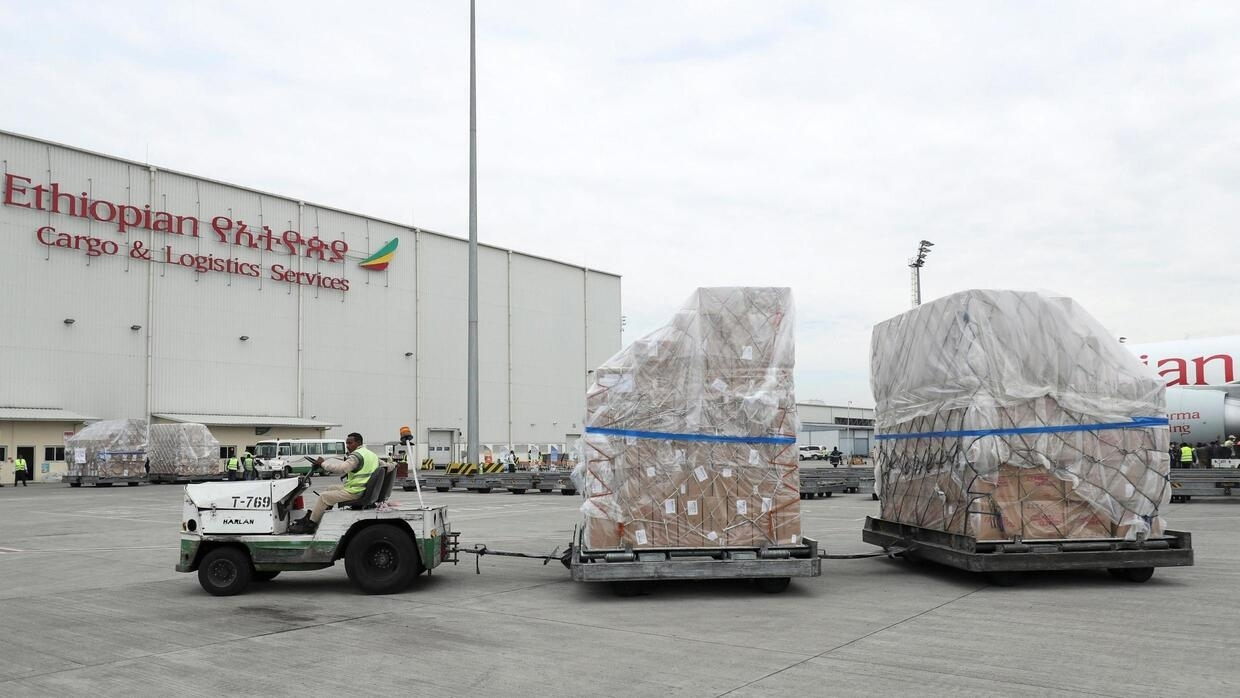 China makes massive donation of medical supplies to fight ...