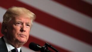 特朗普2016年12月18日就美國國家安全戰略發表講話