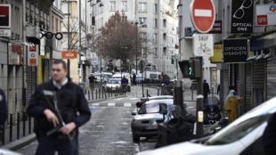 Tarek Belgacem a été abattu par la police le 7 janvier 2016, dans le quartier de la Goutte d'Or, à Paris.