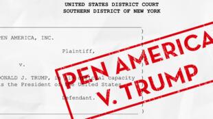 انجمن قلم آمریکا برای آزادی بیان فعالیت میکند