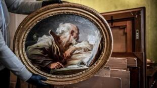 Fragonard Philosopher reading