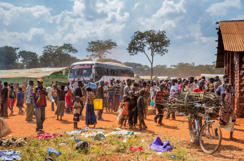 Le camp de Nyarugusu en Tanzanie. (Image d'illustration)