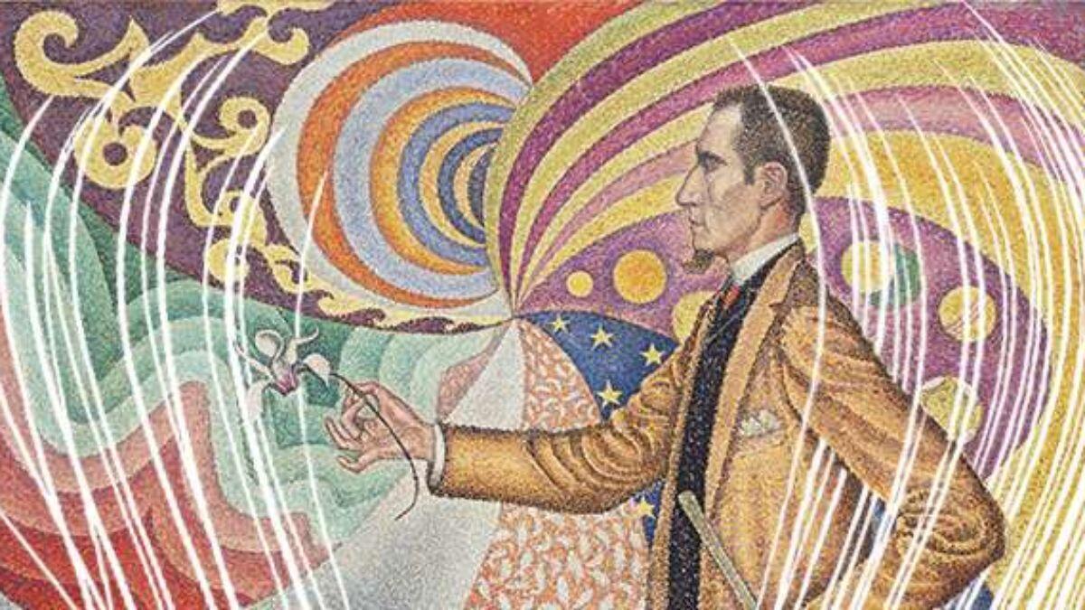 Поль Синьяк. Портрет Феликса Фенеона. Опус 127. 1890