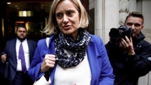 Parmi les têtes d'affiche Tory, la ministre de l'Intérieur Amber Rudd a décidé de ne pas se présenter aux élections législatives du 12 décembre.