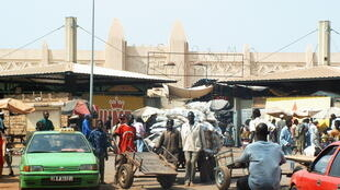 Le marché de Bobo Dioulasso, au Burkina Faso.