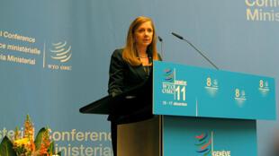 Anabel González, ministra de Comercio Exterior de Costa Rica.