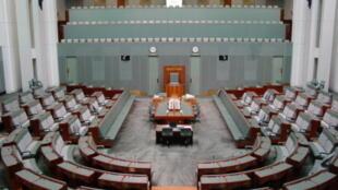 La chambre des représentants, à Canberra en Australie. (Photo d'illustration)