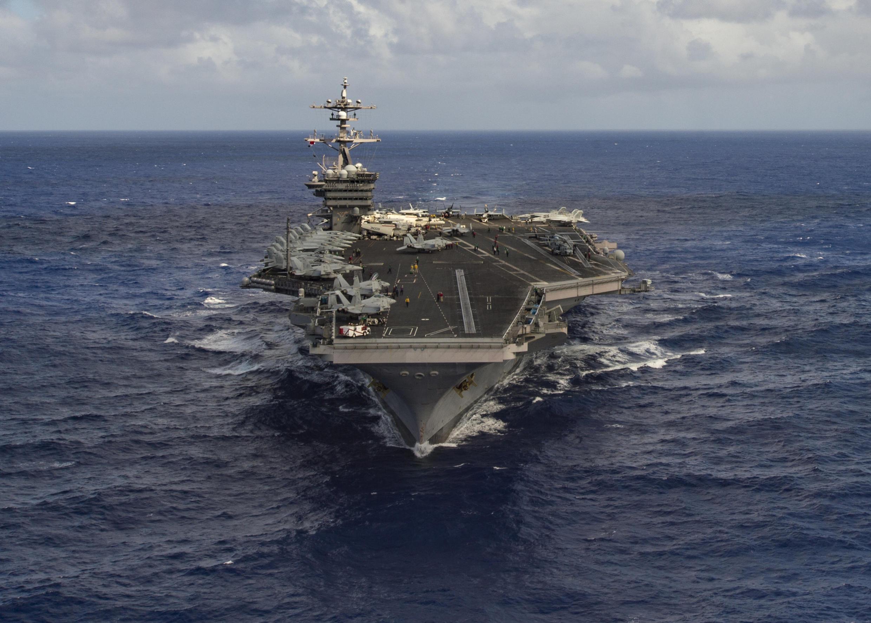 នាវាផ្ទុកយន្តហោះចម្បាំង USS Carl Vinson របស់អាមេរិក កំពុងបើកសំដៅទៅក្បែរឧបទ្វីបកូរ៉េ
