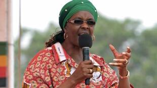 Mke wa rais wa Zimbabwe, Grace Mugabe.