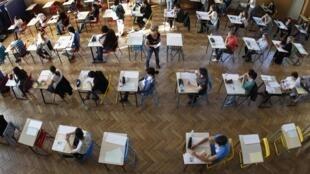 Экзамен во французской школе