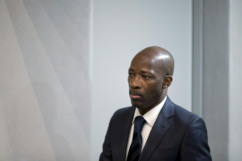 Charles Blé Goudé devant la CPI, le 28 janvier 2016.