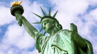 纽约自由女神像 局部