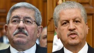 Ahmed Ouyahia et Abdelmalek Sellal, anciens Premiers ministres algériens