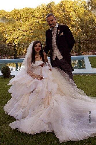 Свадебная фотография Евгении Тимошенко и Шона Карра