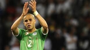 Algeria captain Madjid Bougherra