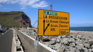 La Nouvelle Route du Littoral à La Réunion.