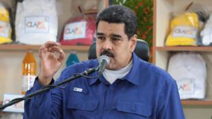 Le président vénézuélien Nicolas Maduro a qualifié de «coup d'Etat» la mise à l'écart de son pays du Mercosur, le 2 décembre 2016.