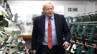 Le Premier ministre Boris Johnson, le 5 décembre 2019.