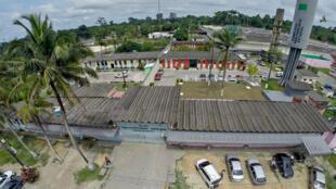 (Ảnh minh họa) Nhà tù Anisio Jobim ở Manaus, bang Amazonie, nơi 56 tù nhân đã chết trong một vụ bạo động ngày 01-02/01/2017.