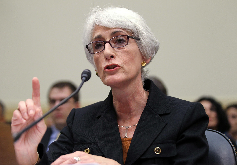 Wendy Sherman durante una comparecencia en la Cámara De Representantes en 2011