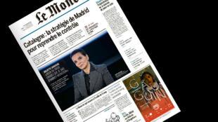 A atriz francesa Juliette Binoche sai do silêncio para falar do produtor de cinema Harvey Weinstein é o destaque do jornal francês Le Monde desta segunda-feira.