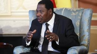 Le président Boni Yayi.