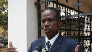 Joachim Sioké Rainaldy, premier vice-président du parti RDC, le Rassemblement démocratique centrafricain.