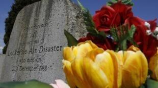Kaburburan wadanda suka mutu a harin Lockerbie kasar Scotland
