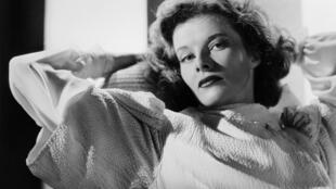 L'actrice américaine Katharine Hepburn en 1938.