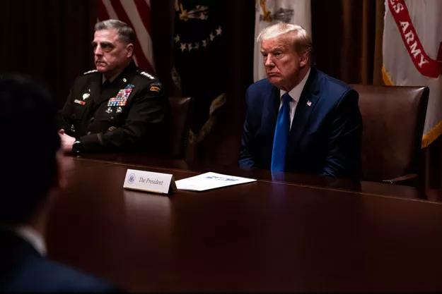 Le-plus-haut-grade-americain-a-contacte-la-Chine-pour-rassurer-sur-Trump
