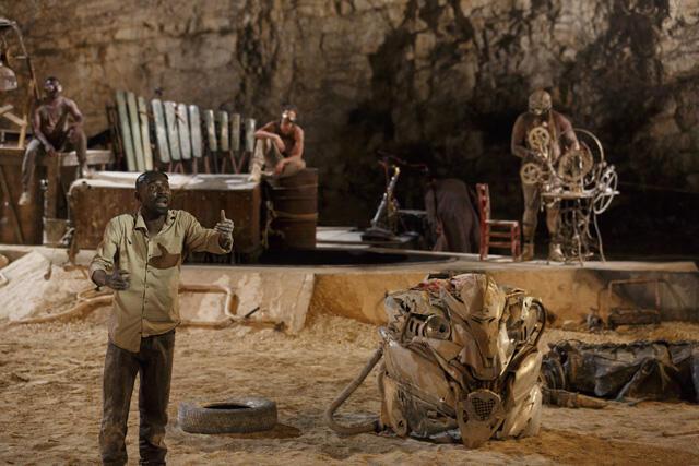 Shéda, peça do diretor africano Dieudonné Niangouna, em cartaz no Festival de Avignon