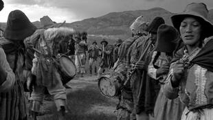 'Los abuelos de la quinoa', grupo musical quichua (Perú)