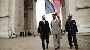 法国总统马克龙资料图片