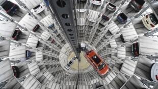 Fábrica da Volkswagen em Wolfsburg, na Alemanha.