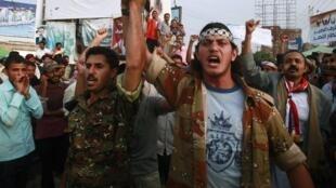 Au Yémen, la mobilisation antigouvernementale ne faiblit pas depuis le début  du mouvement.
