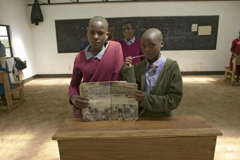 Salle de classe dans le nord du Kenya ( photo d'illustration) .