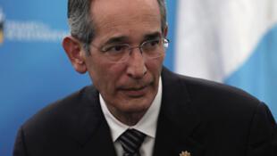 Alvaro Colom, presidente de Guatemala.