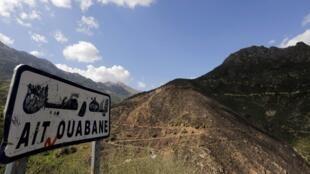 Montanhas da região de Cabília, na Argélia, onde atua o grupo extremista.