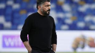Tsohon kocin Fiorentina Gennaro Gattuso.