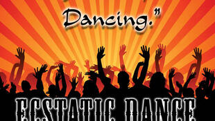 Promotional poster for Ecstatic Dance in San Francisco
