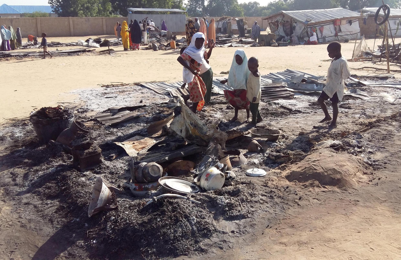 Après un attentat perpétré par Boko Haram, à Dalori, le 1er novembre 2018.