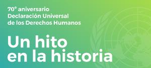 70 años de la Declaración Universal de los DDHH