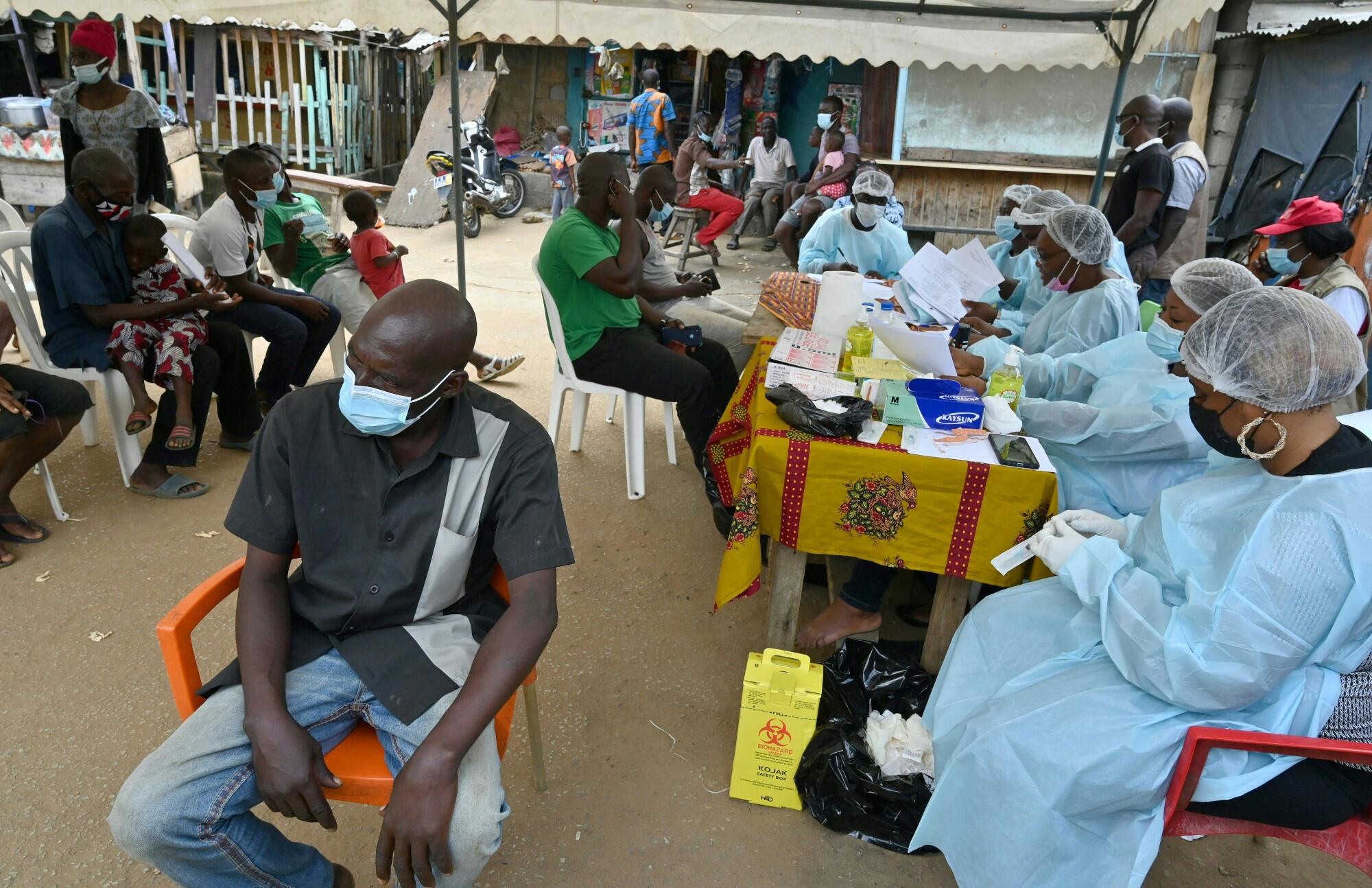 Côte d'Ivoire - Abidjan - vaccination - Ebola
