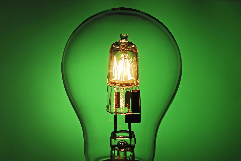 Ampoule halogène.